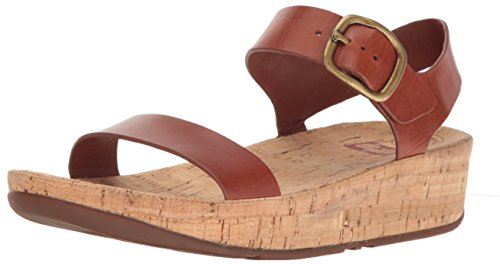 Fitflop Women's Bon Platform Sandals Brown (Dark Tan 277) Zz024Q8