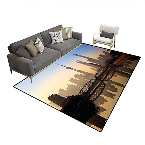 Carpet,Shanghai Skyline at Sunrise with Historical for sale  Delivered anywhere in Canada