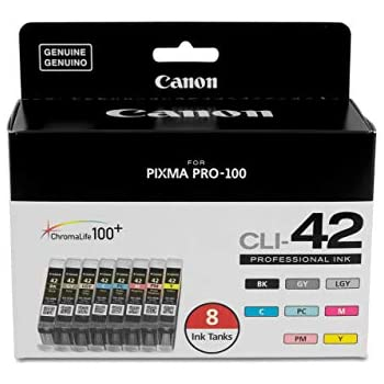 Canon CLI-8 8-Colors Multi Pack Ink Kit for Pro9000 Pro9000 Mark II #0620B015
