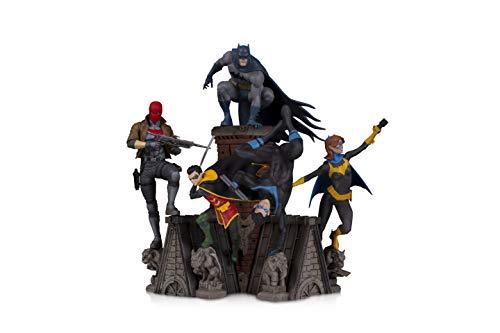 41TnnRQEb8L DC Collectibles Bat Family: Batgirl Multi-Part Statue, Multicolor