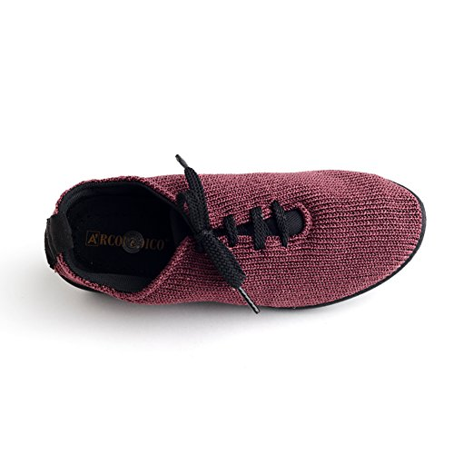 Arcopedico 1151 Ls Femmes Oxfords Chaussures Bordeaux