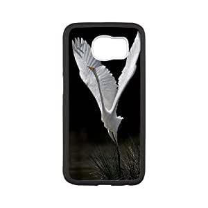 Chaap And High Quality Phone Case For Samsung Galaxy S6 -Swan Ballet Dancing Pattern-LiShuangD Store Case 5