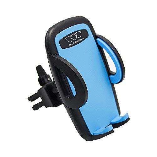 Car Phone Mount Holder - Universal Smartphone Car Air Vent Mount Holder Cradle Compatible with iPhone X 8 8 Plus 7 7 Plus SE 6s 6 Plus 6 5s 5 4s 4 Samsung Galaxy S6 S5 S4 LG Nexus Motorola Nokia Sony