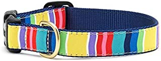 product image for Up Country Dog Collar - Colorful Stripe/Large