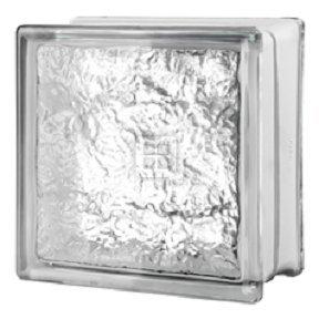 Seves Glass Block 8 x 8 x 4 Cortina Glass Block