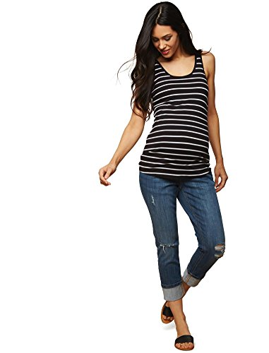 Jeans Maternity Leg Crop (Motherhood Secret Fit Belly Skinny Leg Maternity Crop Jeans)