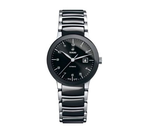 Rado Centrix Automatic Black Dial Two-tone Ceramic Ladies Watch R30942162
