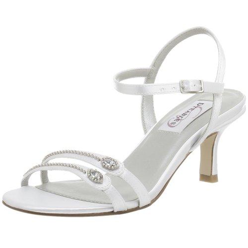 Dyeables Women's Celine Dyeable Sandal,White,5 M