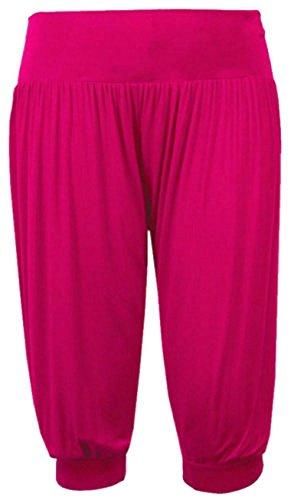 Pantaloni Ali Elastica Plus Donna 4 Harem Dimensioni Kirschrot Breve 3 Baba Vita Leggings gSRqE