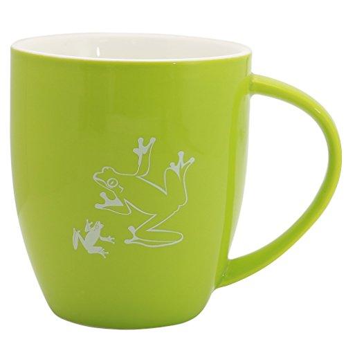 - EPFamily Frog Mug Cute Funny Ceramic Coffee Mugs Tea Cup Gifts for Mom Men Women Animal Lover Green 13 oz
