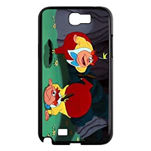 Samsung Galaxy N2 7100 Cell Phone Case Black Disney Alice in Wonderland Character Tweedledum and Tweedledee 003 SH3025155