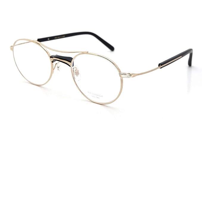 Amazon.com: Masunaga GMS 106 39 GP/Black Matt 49-22 - Gafas ...