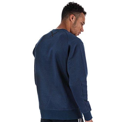 Originals Xbyo Sweatshirt Bleu Homme Adidas Aq1p8