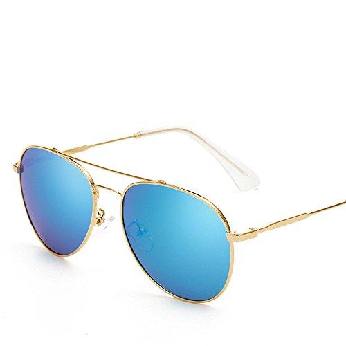 Chahua Dans lrétro classique dans les lunettes fashion lunettes de soleil Lunettes de soleil en métal,
