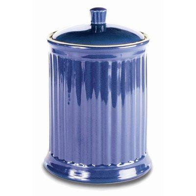 - OmniWare Simsbury Blue Stoneware Extra Large Canister