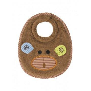 Zoocchini - Toalla con capucha 100% algodón bebé baberos, Max el mono: Amazon.es: Bebé