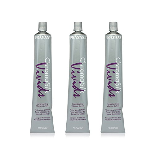 Pravana Chromosilk Vivids Hair Color (3 Pack) (Vivid Violet) by Pravana (Image #1)