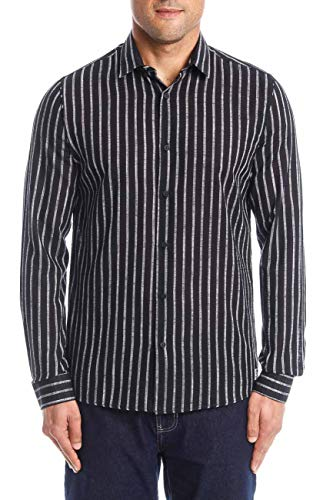 Camisa Listrada Super Slim Fit