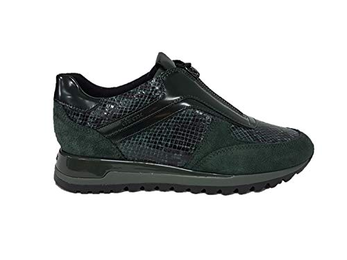 D Femme C3019 Forest Geox A Sneakers Vert Basses dk Tabelya OqAUwwg