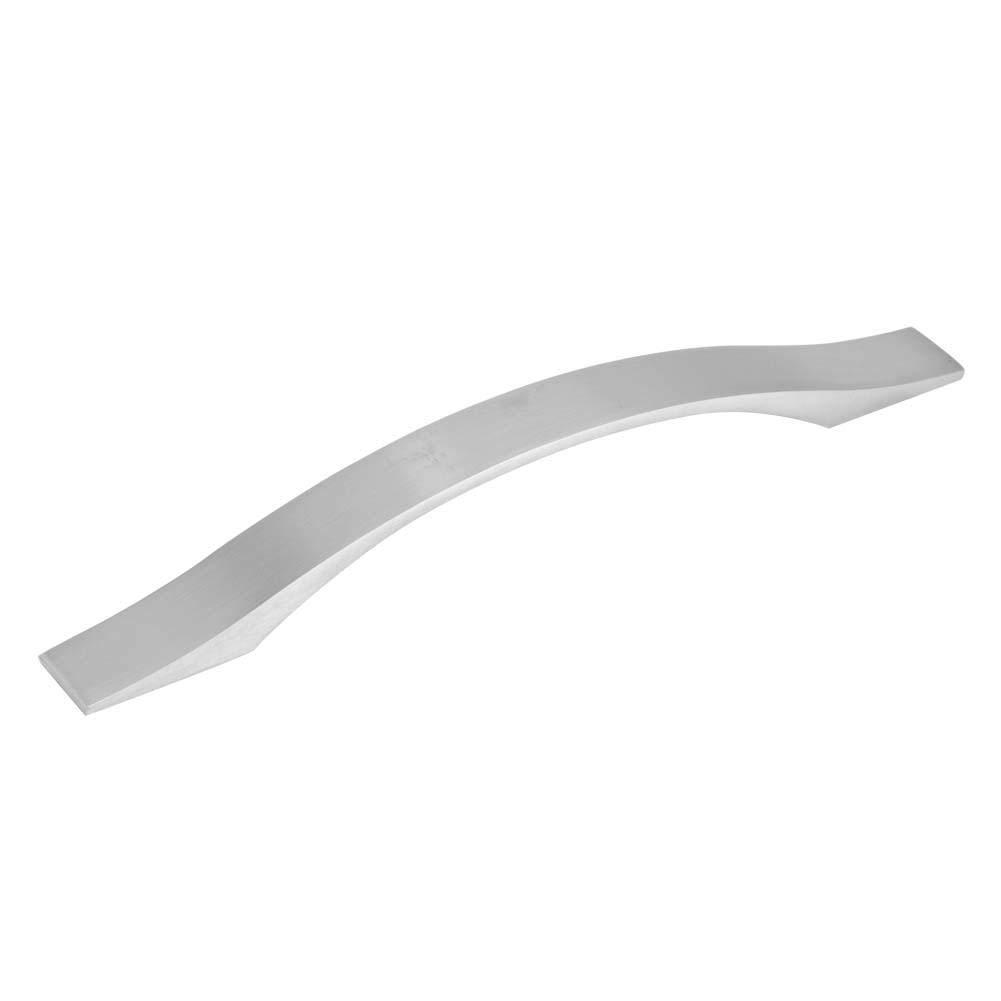 FTVOGUE 160mm Poign/ée de Porte en Forme de Taper Bow pour Armoire Tiroir Meubles Poign/ées Acier Bross/é