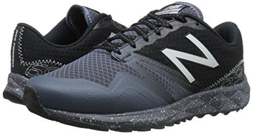 New Balance Men's MT690V1 Trail Shoe, Grey/Black, 11 D US | Pricepulse