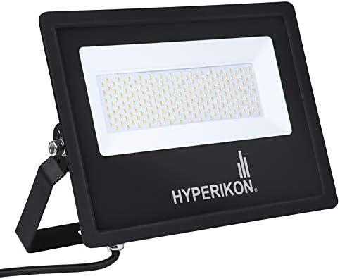 Hyperikon 100W LED Flood Light, 500 Watt Equivalent , 5000K, 100-277v, ETL, DLC