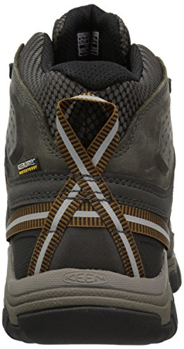 KEEN Targhee III Mid WP Scarpe da escursione black olive/brown
