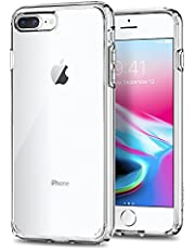 Spigen Ultra Hybrid Designed For Apple iPhone 8 Plus Case (2017) / iPhone 7 Plus Case (2016) - Crystal Clear