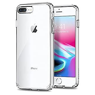 Spigen Ultra Hybrid 2 Works with Apple iPhone 8 Plus Case (2017)/ iPhone 7 Plus Case (2016) - Crystal Clear (B01MXKNPQ5)   Amazon price tracker / tracking, Amazon price history charts, Amazon price watches, Amazon price drop alerts
