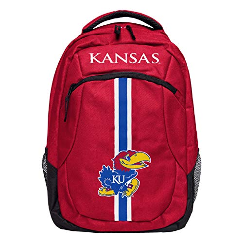- FOCO NCAA Kansas Jayhawks Action BackpackAction Backpack, Team Color, One Size