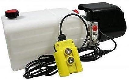 Flowfit 24Vdc Individual Acción Hidráulico Power Pack con 8L Tanque ZZ003835