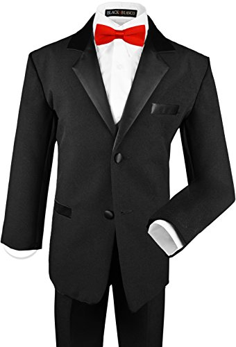 Black Bianco Modern Tuxedo Dresswear