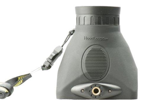 Hoodman HoodLoupe Optical Viewfinder for 3.2 Inch LCD Displays, Black