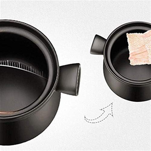 HZXLYG Einfach und langlebig SBWFH Casserole - Haushalts große Kapazitäts-Suppe Steintopf Bräter Keramik Skillet (Size : 4.5L)