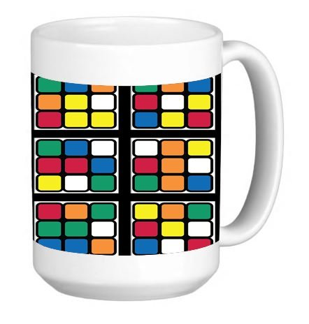 rubik coffee cup - 6