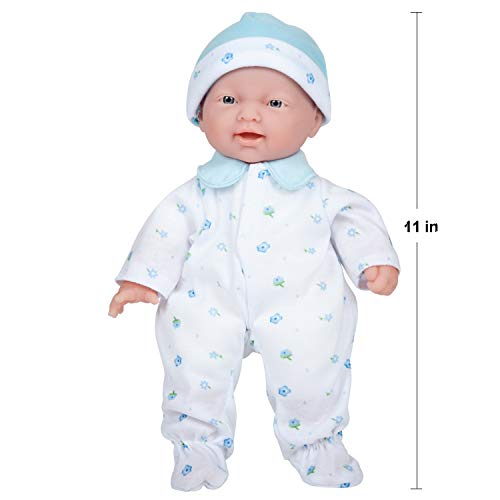 41TnyppsVIL - JC Toys, La Baby 11-inch Washable Soft Body Boy Play Doll for Children 12 Months and Older, Designed by Berenguer