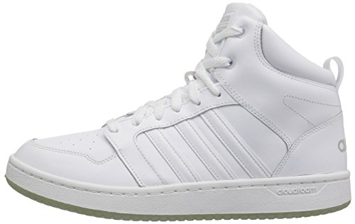 promo code 7ec42 4af7e adidas NEO Mens CF Super Hoops Mid Basketball-Shoes, WhiteWh