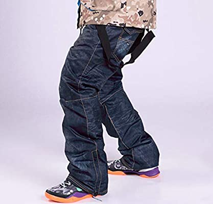 Amazon.com: Mitef - Pantalones vaqueros de esquí para hombre ...