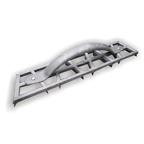DEWEPRO® Handhobel - Gipserhobel - Kantenhobel - Hobel - Putzerhobel - extra leicht mit 8 Stahlklingen - Abmessung: 465x90mm - Schleifraspel