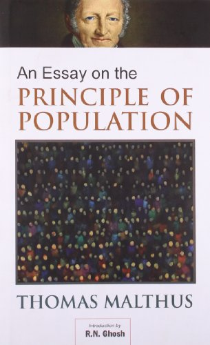 author of an essay on the principle of population An essay on the principle of population author: tr malthus published on june, 1983: amazones: tr malthus: libros.