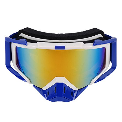 MotorFansClub Adult Motorcycle ATV Off Road Dirt Bike Racing Safety Goggles Screen (Adult Screen)