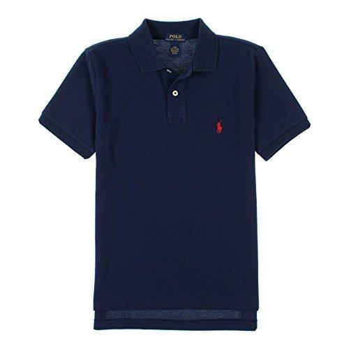 Ralph Lauren Big Boys Classic Short Sleeve Polo Shirt 10/12 French Navy