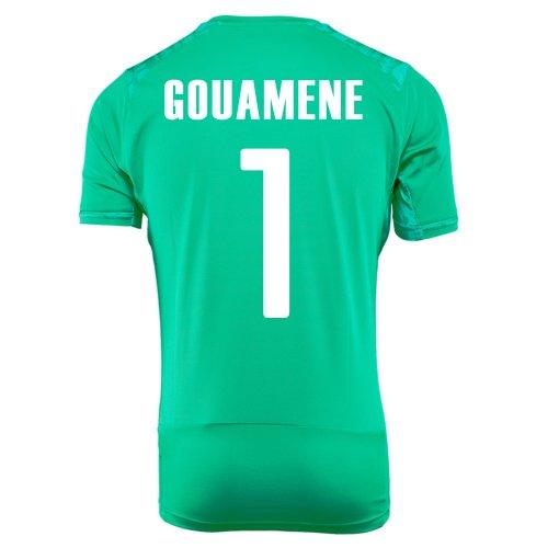 無臭不規則性インサートPUMA GOUAMENE #1 IVORY COAST AWAY JERSEY WORLD CUP 2014/サッカーユニフォーム コートジボワール アウェイ用 ワールドカップ2014 背番号1 グアメネ