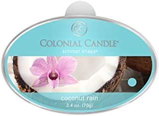 product image for Colonial Candle Coconut Rain Simmer Snaps