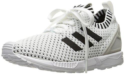 check out b7694 732b1 adidas Originals Boys' ZX Flux PK J Sneaker, White/White ...