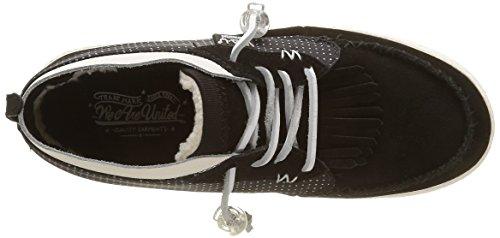 Black Tijuana Nero Sneaker WAU Donna Nero Basse Zw0XBqnB