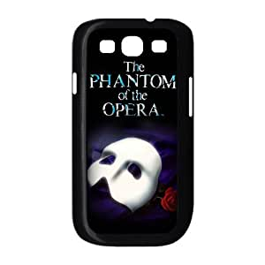 Funny Phantom Of The Opera And Mask With Rose Fashion Design Samsung Galaxy S3 I9300/I9308/I939 Hard Plastic Case Cover Gift Idea