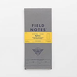 Field Notes Byline Special Edition, 2-Pack Reporter's Notebooks Summer 2016