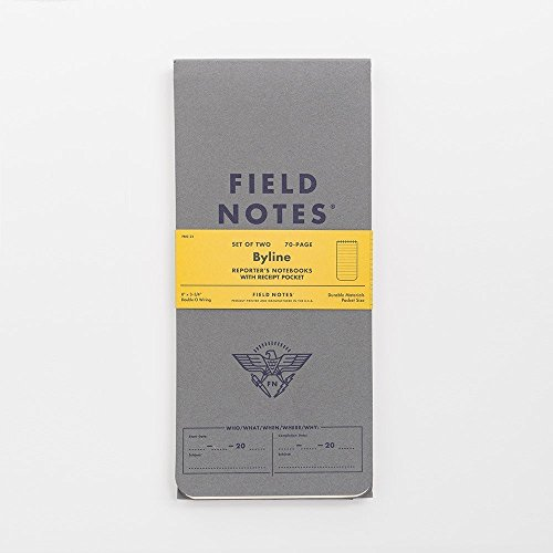 Notepad Summer (Field Notes Byline Special Edition, 2-Pack Reporter's Notebooks Summer 2016)