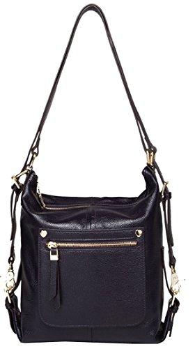 Small Handbag Heshe Womens Leather Shoulder Bag Bakcpack Casual Style for Girls - Shopping Vt Bag